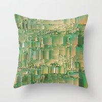 bar Throw Pillows featuring Energy bar by Okti