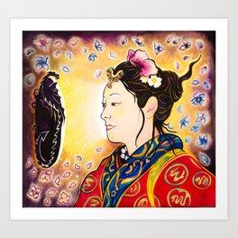 Amaterasu Goddess Art Print