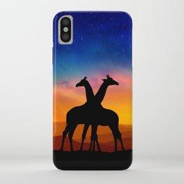 Giraffes Can Dance iPhone Case