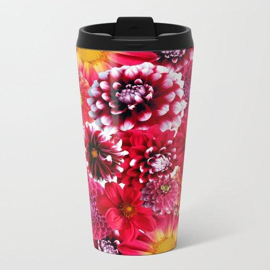 Botanical Beauty II Metal Travel Mug
