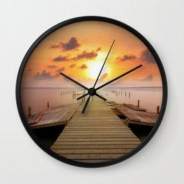 Ocean Landscape Wall Clock