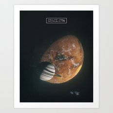 170106 / space.1776 Art Print
