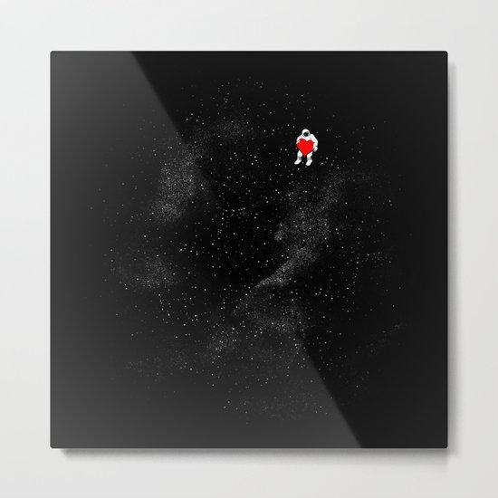 Love Space Metal Print