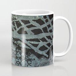 Patterned with Black Coffee Mug