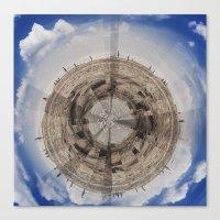 planet Canvas Prints featuring Planet by Sébastien BOUVIER