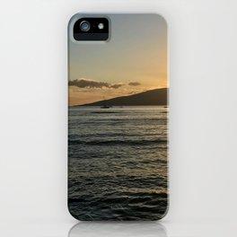 Lahina Sunset iPhone Case