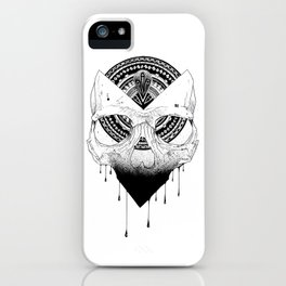 Enigmatic Skull iPhone Case