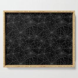 Dead of Night Cobwebs Serving Tray