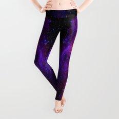 NebUla. Pink Violet Blue Leggings