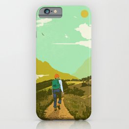 WARM TRAILS iPhone Case