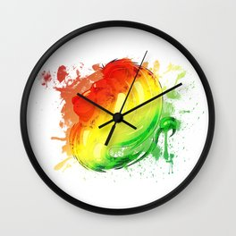 Irie Lion Slpash Wall Clock