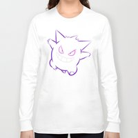 gengar Long Sleeve T-shirts featuring Gengar by Proxish Designs