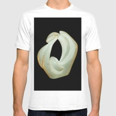 Eroticism by Shimon Drory White MEDIUM Mens Fitted Tee