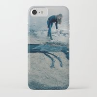 sea horse iPhone & iPod Cases featuring Sea horse by Kestere