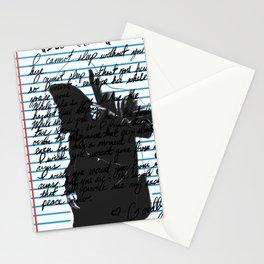 Loose Leaf Doodle: Masks Stationery Cards