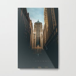 Chicago Board of Trade Building Metal Print