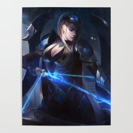 Championship Ashe League Of Legends Poster