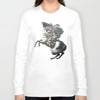 napoleon Long Sleeve T-shirts featuring Napoleon by FakeFred