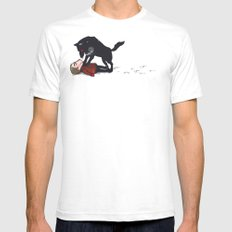 snowtime SMALL White Mens Fitted Tee