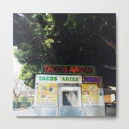 Taco Stand Metal Print