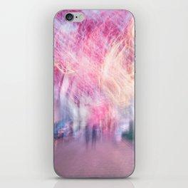 Pink sky iPhone Skin
