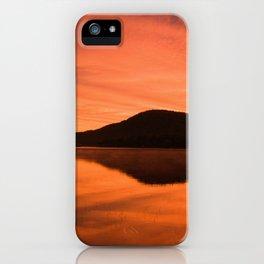 Dawn on Fire: Lac du Saint Sacrement iPhone Case