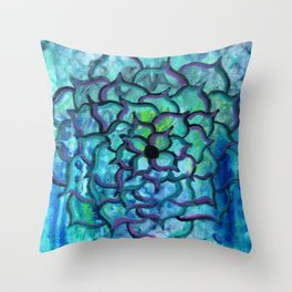 Blooming Soul Throw Pillow