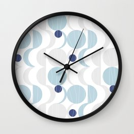 Blue Moon #society6 #decor Wall Clock