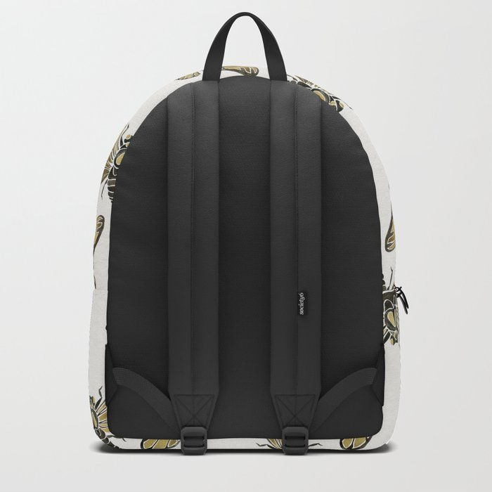 Summer Cicada – Black & Gold Palette Backpack