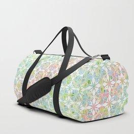 Floral 3 Duffle Bag