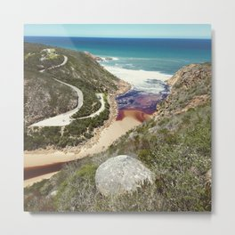 Goukamma river mouth Metal Print