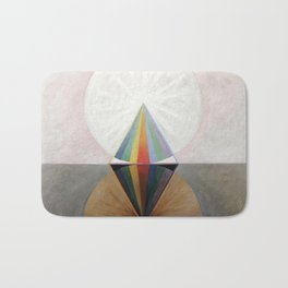 Hilma af Klint - Group IX/SUW No. 12, The Swan No. 12 Bath Mat
