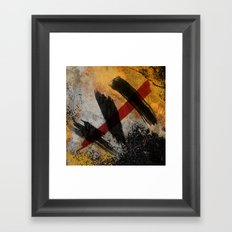 The Scar Framed Art Print