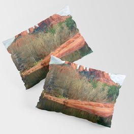 Healing Waters of Cathedral Rock Pillow Sham