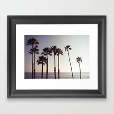 San Clemente Sunset 2 Framed Art Print