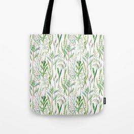 herbal pattern Tote Bag