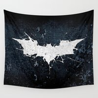 thorin Wall Tapestries featuring BAT MAN by Thorin