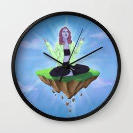 MEL (Meditate Elevate Levitate) Wall Clock