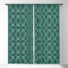 Celtic Arrow Green Blackout Curtain