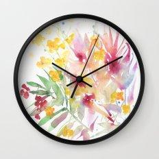 fiori I Wall Clock