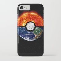 pokeball iPhone & iPod Cases featuring Galaxy Pokeball by Advocate Designs