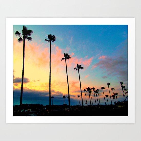 California Living  Art Print