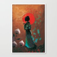 japan Canvas Prints featuring Japan by Ludovic Jacqz