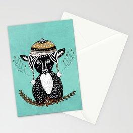 Hipster Deer Stationery Cards