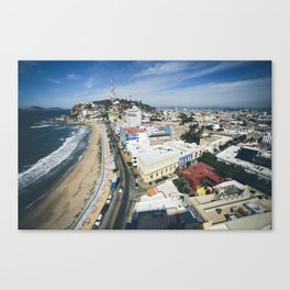 Mazatlan, Mexico From Above Canvas Print
