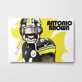 Antonio Brown  Metal Print