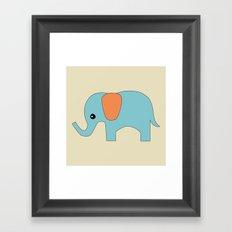 Elephant 3 Framed Art Print