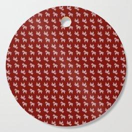 Scandi Horse Pattern Cutting Board