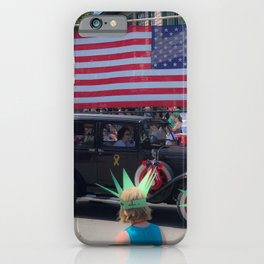 Bar Harbor Fourth of July Parade iPhone Case