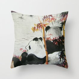 romantic evening Throw Pillow